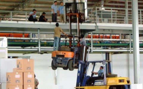 RIESGOS LABORALES: ALMACÉN Y MOVIMIENTO DE MERCANCÍAS. Logística y transporte #2º análisis