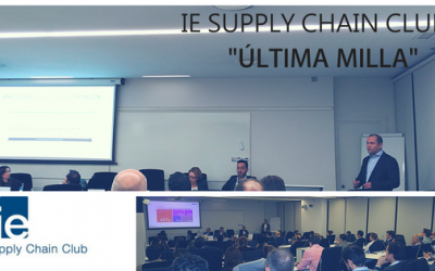 Última milla. Evento de ie Supply Chain Club. Ponencia Jose  C. Gisbert